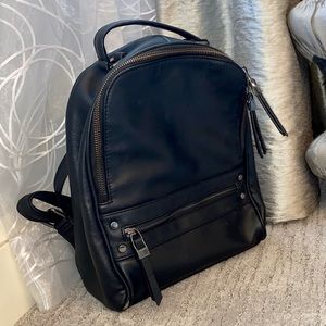 Handbags - Small/Med Faux Leather Backpack